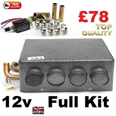 Motorhome & Boat 12v Air Conditioning Heater with Speed Switch Kit  SELF BUILD