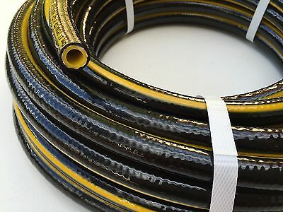 """AG Chemical Spray Hose 20M High Pressure 12.5MM -1/2"""" Rubber Heavy Duty 600 PSI"""