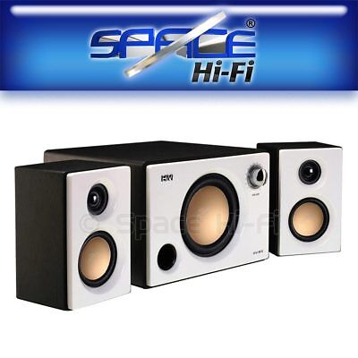 Swan M10 2.1 Channel Powered Active Multimedia Speaker System (White)