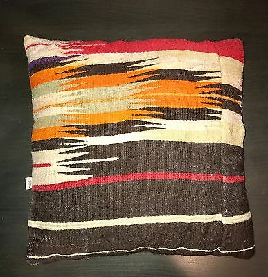 antique kilim pillow cover