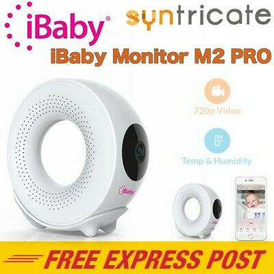 iBABY M2 PRO DIGITAL BABY MONITOR FOR iOS AND ANDROID WIRELESS 720p HD
