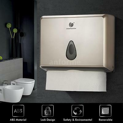 Multifold Paper Towels Bathroom Kitchen Tissue Dispenser Tissue Box Holder M1W5