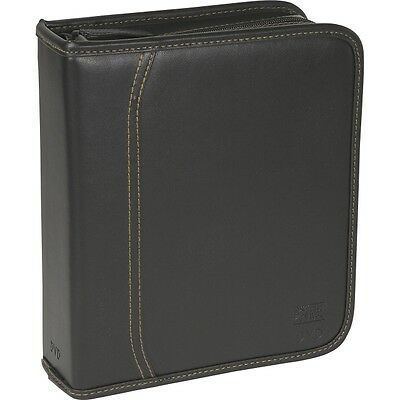 Case Logic-Personal & Portable Dvb-40 Dvd 3Ring Binder Black Koskin