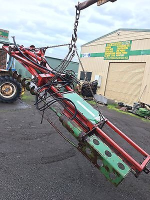 Hydraulic Post Driver With Auger Trueline