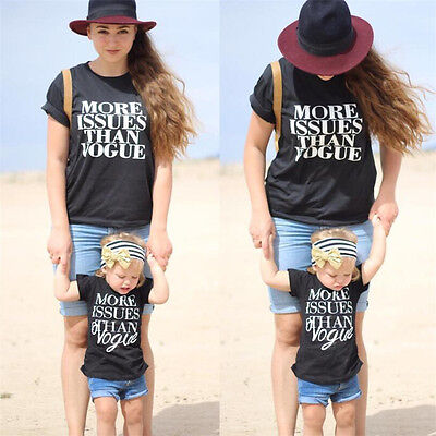 Toddler Baby Kid Matching Clothes Women Boys Girl Family Outfits Tops+ Pants Set