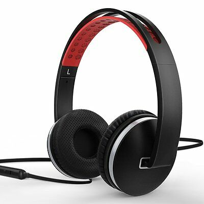 Tohayie Foldable Lightweight Stereo Headphone Adjustable Headband Headset