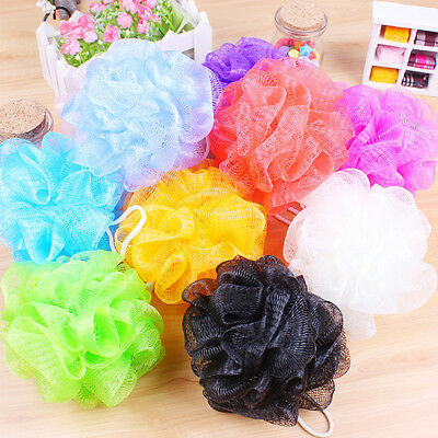 18pc Bath Sponge Shower Nylon Mesh Scrubbers Exfoliating Body Massage Scrub