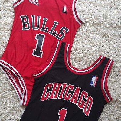 Bulls 1 Chicago NBA Bodysuit Beyonce Inspired Size 10-12