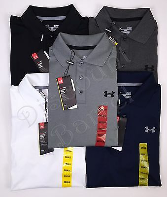 New Under Armour Men's Short Sleeve Performance Polo Shirt Golf Variety $55