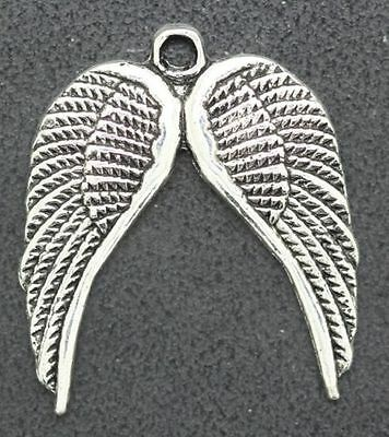 Free Shipping 8pcs exquisite Angell Wing Jewelry Making Charms Pendants 25x30mm