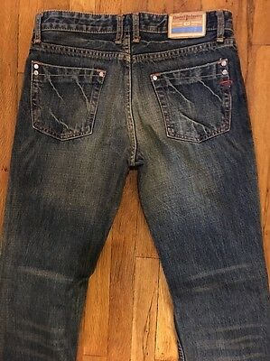 DIESEL DENIM WOMEN'S DESIGNER JEANS Sz 29 (MEASURES 30 x 30)