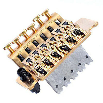 Tremolo System Double Locking Floyd Rose Guitar Tremolo Bridges Golden 1 Setw
