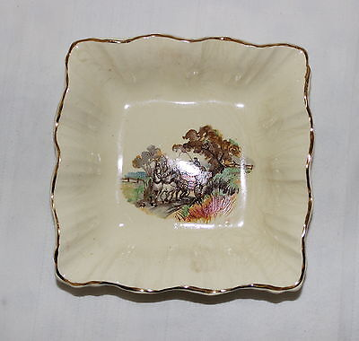 Vintage Small Plate: Sunshine J&G Meakin England: Coaching: