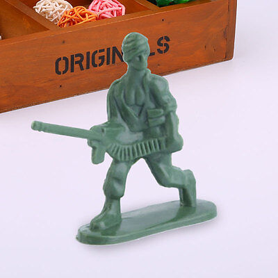100pcs Set Kit Pack Military Army Men Soldiers Model Toys For Fun Decoration