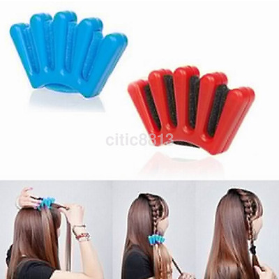 Magic Hair Braider Braid Stylist Sponge Plait hair Twist Styling Braiding Tool