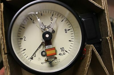 GDR Manometer How to contact with pressure gauge two Contacts 0-10kp/cm²
