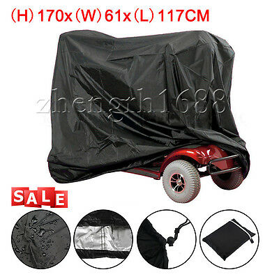 Large  Mobility Scooter Storage Rain Cover Waterproof Disability