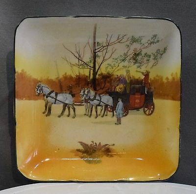 A Royal Doulton Square Series Ware Plate