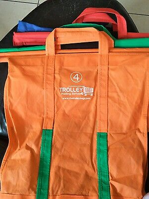 Trolley shopping bags set of 4 Brand new.