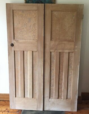 Reclaimed victorian  internal solid wood doors