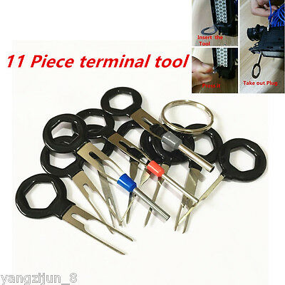 11x Terminal Removal Tools Wiring Crimp connector Pin Release Extractor Puller