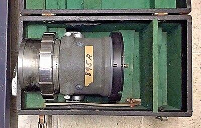 Bausch & Lomb Baltar 55mm Format CinemaScope 55 Cine Camera Lens VERY RARE