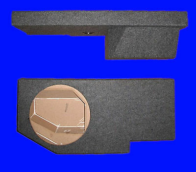 "Dodge Ram Crew Cab 2009-Up Sin 12"" Passenger Side Subwoofer Sub Enclosure Box"
