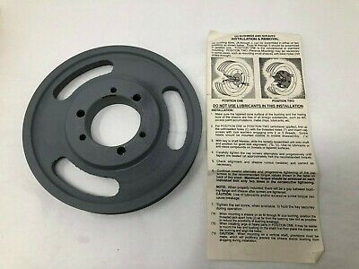"Electron 6J600SH 6"" QD Bushing & Sheaves Bore V-Belt Pulley w/Free Shipping"