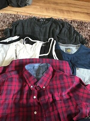 Men's Top Bundle, 6 Items, Inc Topman, Size Medium