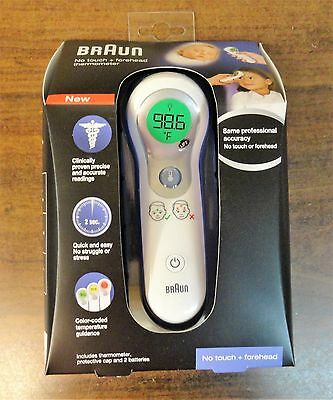 Braun No Touch + Forehead Thermometer NTF3000 Brand NEW Sealed Free Shipping