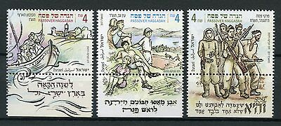 Israel 2017 MNH Passover Haggadah 3v Set Cultures Traditions Stamps