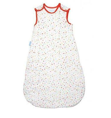 Grobag baby sleeping bag  Spotty 0 - 6 6 -18 18 - 36 mths 1.0 tog   - no packet