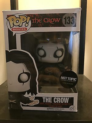 Funko Pop The Crow Glow In The Dark Hot Topic Exclusive