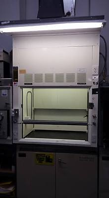 Hamilton SafeAire Bench Fume Hood with Base Cabinets