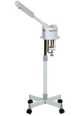 Professional Metal Salon Hot Ozone Facial Steamer With Timer and Rolling Stand
