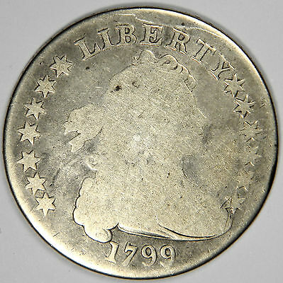 1799 Draped Bust Silver Dollar - Priced Right For Quick Sale!
