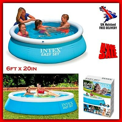 Inflatable Swimming Pool For Kids Patio Large Water Garden Ring Above Ground NEW