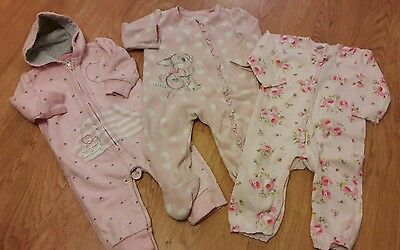girls 6-9 months all in one play suit bundle