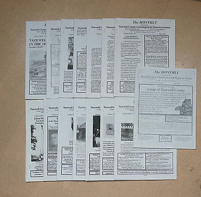 15 Issues The Monthly - Tazewell County Genealogical Society Genealogy Illinois
