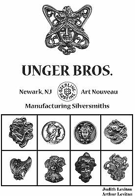 New Unger Brothers Art Nouveau Sterling Silver Jewelry Book 168 pgs HC DJ 6x9""
