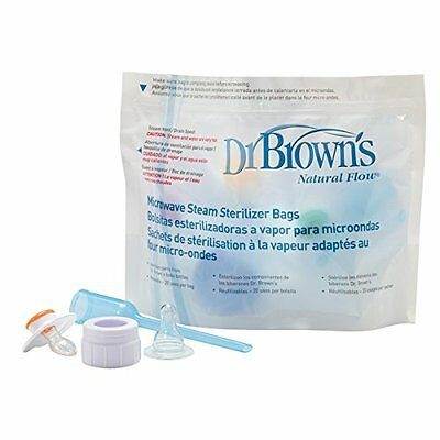 Dr. Warmers Sterilizers Brown's Microwave Steam Sterilizer Bags