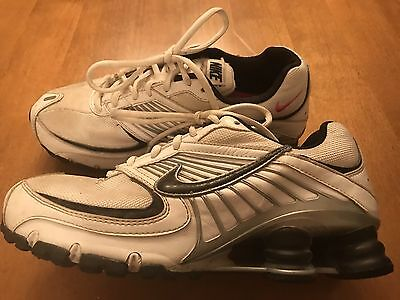Nike Turbo 3 Shox Women's Size 7 Running Athletic Shoes White & Black