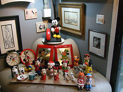 Vintage Disney  Mickey Mouse & Friends figures collection (21pcs) total 15 ITEMS