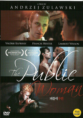 The Public Woman / Andrzej Zulawski, Francis Huster (1984) - DVD new