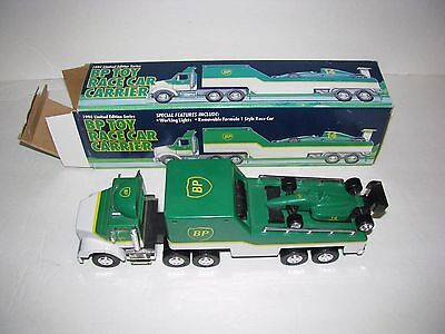1994 Limited Edition BP Toy Race Car Carrier