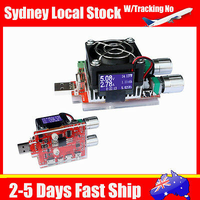 Local 35W USB Electronic Load Constant Current Battery Discharge Capacity Tester