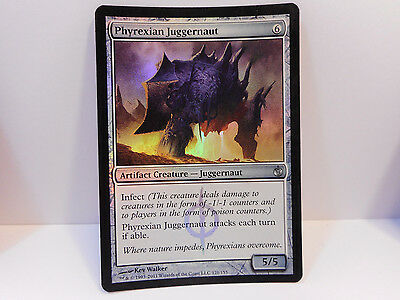 FOIL Phyrexian Juggernaut x1 Magic The Gathering NM