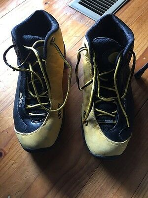 And 1 Size 12us Yellow And Black Basketball Shoes