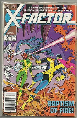 X-Factor #1 Marvel (1985) Copper Age Comic VF-/VF (1st Appearance as X-Factor)