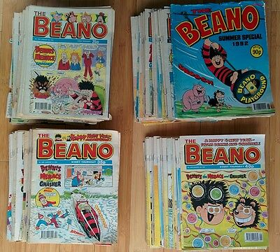 188 x Beano Comics from the 90's
